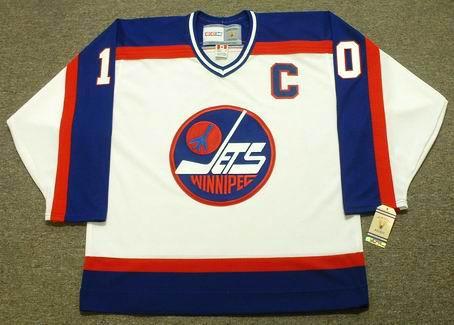 best website 1fc48 a9770 DALE HAWERCHUK Winnipeg Jets 1989 Home CCM NHL Vintage Throwback Jersey