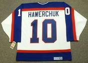 DALE HAWERCHUK Winnipeg Jets 1989 Home CCM NHL Vintage Throwback Jersey