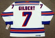 ROD GILBERT New York Rangers 1972 Home CCM Throwback NHL Hockey Jersey - BACK