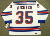 MIKE RICHTER New York Rangers 2003 CCM Throwback Home Hockey Jersey