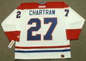 RICK CHARTRAW Montreal Canadiens 1978 CCM Throwback Home NHL Jersey