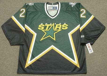 Brett Hull 1999 Dallas Stars CCM Away NHL Throwback Hockey Jersey - FRONT