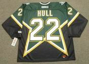 BRETT HULL Dallas Stars 1999 CCM Throwback Away NHL Hockey Jersey