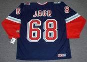 JAROMIR JAGR New York Rangers 2006 CCM Throwback Alternate NHL Jersey