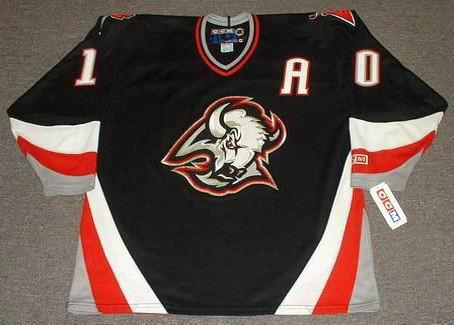 sports shoes 0771a fdb18 BRAD MAY Buffalo Sabres 1997 Away CCM Vintage NHL Throwback Jersey