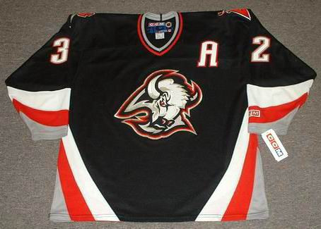 ROB RAY Buffalo Sabres 1999 CCM Throwback Away NHL Hockey Jersey - Custom  Throwback Jerseys a309bd44dd7