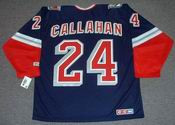 RYAN CALLAHAN New York Rangers 2006 CCM Throwback Alternate NHL Jersey