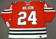 DOUG WILSON Chicago Blackhawks 1988 CCM Throwback Away Hockey Jersey - Thumbnail