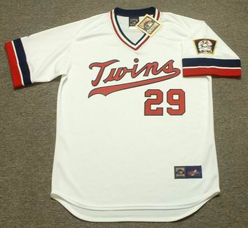 f70a5578e75 ROD CAREW Minnesota Twins 1977 Majestic Cooperstown Throwback Home Jersey -  Custom Throwback Jerseys