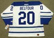 ED BELFOUR Toronto Maple Leafs 2002 CCM Throwback NHL Hockey Jersey