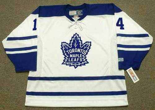 DAVE KEON Toronto Maple Leafs 1965 CCM Throwback NHL Hockey Jersey - FRONT
