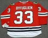 DUSTIN BYFUGLIEN Chicago Blackhawks 2010 REEBOK Throwback NHL Hockey Jersey
