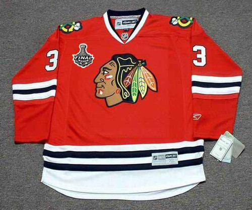 official photos 8ca0e 63c92 DUSTIN BYFUGLIEN Chicago Blackhawks 2010 REEBOK Throwback NHL Hockey Jersey