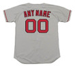 BOSTON RED SOX 1990's Away Majestic Throwback Personalized MLB Jerseys - BACK