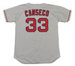 JOSE CANSECO Boston Red Sox 1995 Majestic Throwback Away Baseball Jersey - Back