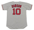 Andre Dawson 1993 Boston Red Sox Majestic MLB Away Throwback Jersey - BACK