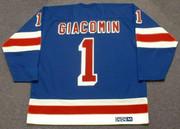 EDDIE GIACOMIN New York Rangers 1972 Away CCM Throwback NHL Hockey Jersey - BACK