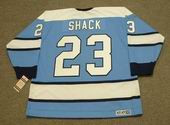 EDDIE SHACK Pittsburgh Penguins 1971 CCM Vintage Throwback NHL Hockey Jersey