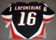 PAT LAFONTAINE Buffalo Sabres 1996 CCM Throwback Away NHL Hockey Jersey - Back