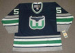 1996 Away CCM KEITH PRIMEAU Hartford Whalers Hockey Jersey - FRONT