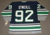 JEFF O'NEILL Hartford Whalers 1995 CCM Vintage Throwback NHL Jersey