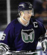PAT VERBEEK Hartford Whalers 1993 Away CCM Vintage Throwback NHL Jersey - ACTION