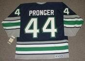 CHRIS PRONGER Hartford Whalers 1993 CCM Vintage Throwback NHL Jersey