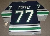 PAUL COFFEY Hartford Whalers 1996 Away CCM Vintage Throwback NHL Jersey - BACK