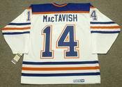 CRAIG MacTAVISH Edmonton Oilers 1987 CCM Vintage Throwback Home NHL Jersey
