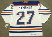 DAVE SEMENKO Edmonton Oilers 1985 CCM Vintage Throwback Home NHL Jersey