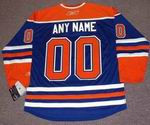 "EDMONTON OILERS Reebok Home Jersey Customized ""Any Name & Number(s)"""
