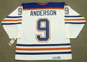 GLENN ANDERSON Edmonton Oilers 1987 Home CCM NHL Vintage Throwback Jersey