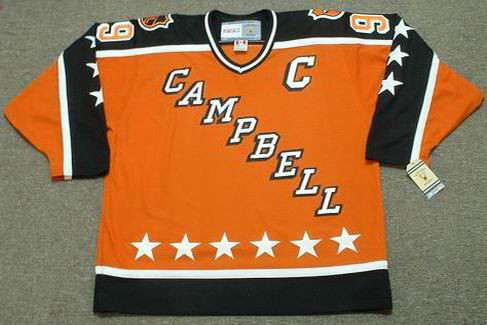 "WAYNE GRETZKY 1984 Campbell ""All Star"" CCM Vintage Throwback NHL Hockey Jersey - FRONT"