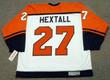 RON HEXTALL Philadelphia Flyers 1996 CCM Throwback Home NHL Hockey Jersey - Back