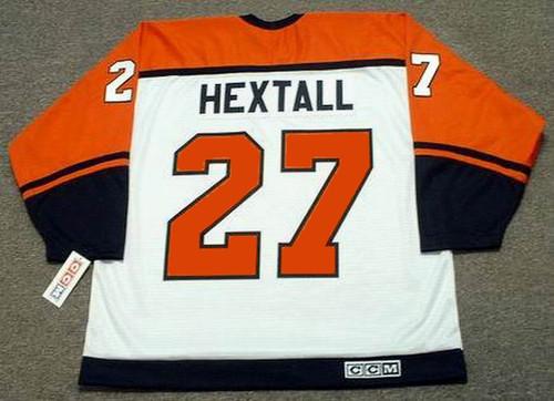 quite nice d44f7 5d703 RON HEXTALL Philadelphia Flyers 1996 CCM Throwback Home NHL Hockey Jersey