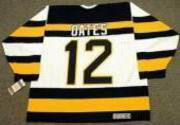 ADAM OATES 1992 CCM NHL Throwback Boston Bruins Jerseys - BACK
