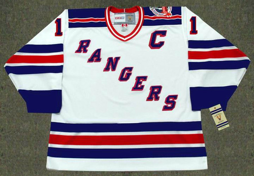 MARK MESSIER New York Rangers 1994 Home CCM NHL Vintage Throwback Jersey - FRONT