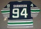 BRENDAN SHANAHAN 1995 Away CCM Hartford Whalers Hockey Jersey - BACK
