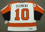 BILL CLEMENT Philadelphia Flyers 1974 CCM Vintage Throwback Home NHL Jersey - Back