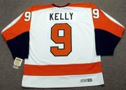 BOB KELLY Philadelphia Flyers 1974 CCM Vintage Throwback Home NHL Jersey - Back