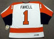 DOUG FAVELL Philadelphia Flyers 1972 CCM Vintage Throwback Home NHL Jersey - Back