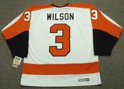BEHN WILSON Philadelphia Flyers 1980 CCM Vintage Throwback Home NHL Jersey - Back