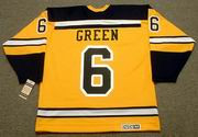 TED GREEN Boston Bruins 1966 CCM Vintage Throwback NHL Jersey