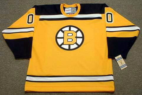 uk availability 9948d 5afd6 BOSTON BRUINS 1960's Home CCM Vintage Jersey Customized