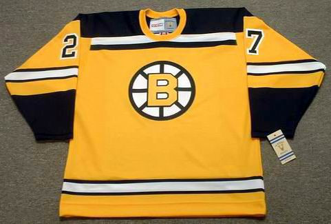 BOBBY ORR Boston Bruins 1966 CCM Vintage Throwback NHL Hockey Jersey ... 43ff2009eb5