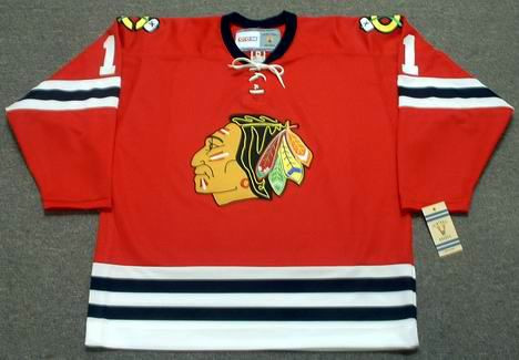 c809262e8 GLENN HALL Chicago Blackhawks 1963 CCM Vintage Throwback NHL Jersey -  Custom Throwback Jerseys