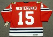 ERIC NESTERENKO Chicago Blackhawks 1963 CCM Vintage Throwback NHL Jersey