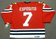 PHIL ESPOSITO Chicago Blackhawks 1963 CCM Vintage Throwback NHL Jersey