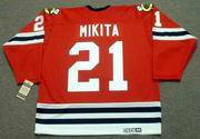 STAN MIKITA Chicago Blackhawks 1963 CCM Vintage Throwback NHL Jersey