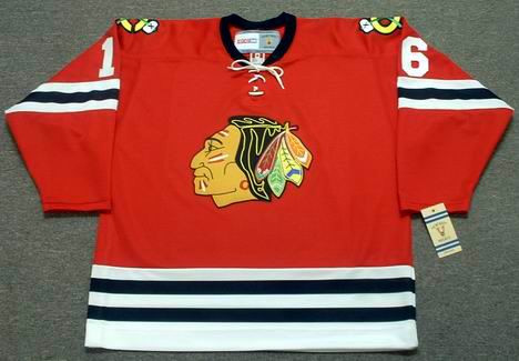 super popular 8e20c d0ec6 BOBBY HULL Chicago Blackhawks 1962 CCM Vintage Throwback NHL Jersey